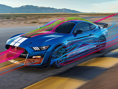 Ford Mustang airflow